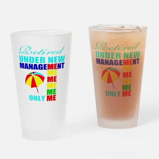 Cute Retirement party Drinking Glass