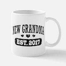 New Grandma Est. 2017 Small Small Mug