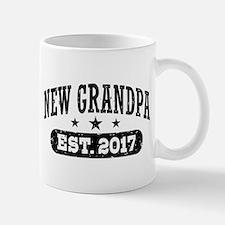 New Grandpa Est. 2017 Mug
