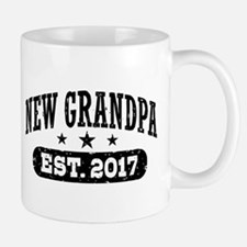 New Grandpa Est. 2017 Small Small Mug