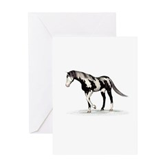 Horse (Piebald) Greeting Card