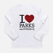 I Heart Parks Long Sleeve T-Shirt