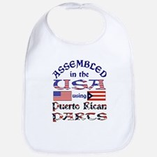USA / Puerto Rican Parts Bib