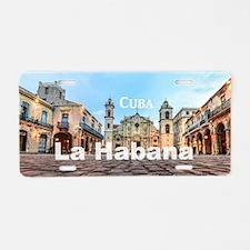 La Habana Aluminum License Plate