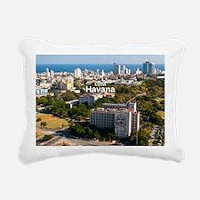 La Habana Rectangular Canvas Pillow