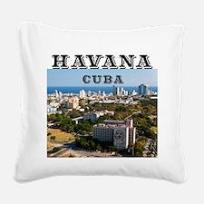 La Habana Square Canvas Pillow