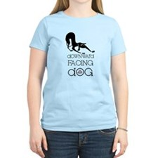 Downward Facing Dog Yoga T-Shirt