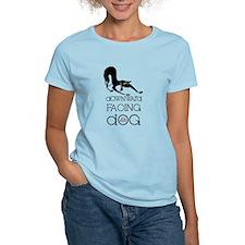 Downward Facing Dog Yoga T-Shirt
