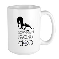 Downward Facing Dog Yoga Mug