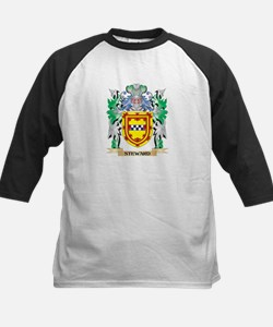 Steward Coat of Arms - Family Cres Baseball Jersey