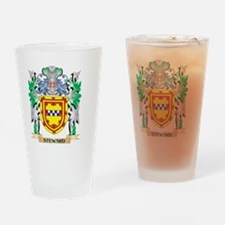 Steward Coat of Arms - Family Crest Drinking Glass