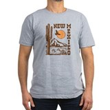 New mexico Fitted T-shirts (Dark)