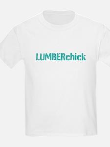 Lumberchick logo T-Shirt