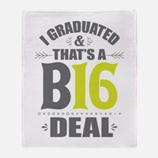 2016 Grad Throw Blanket