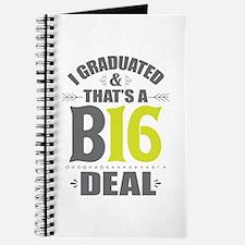 2016 Grad Journal