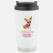 Chihuahua Mom Stainless Steel Travel Mug