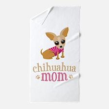 Chihuahua Mom Beach Towel