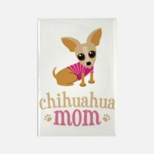 Chihuahua Mom Rectangle Magnet (10 pack)