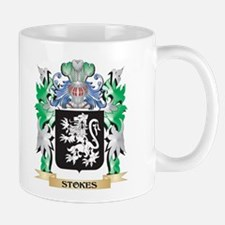 Stokes Coat of Arms - Family Crest Mugs
