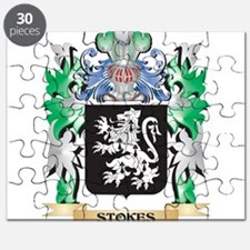 Stokes Coat of Arms - Family Crest Puzzle