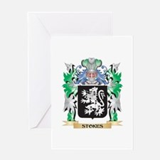 Stokes Coat of Arms - Family Crest Greeting Cards