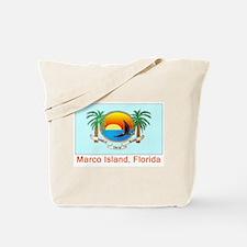 Marco Island FL Flag Tote Bag