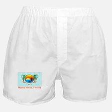 Marco Island FL Flag Boxer Shorts