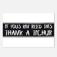 Thank A Teacher Postcards (Package of 8)