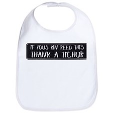 Thank A Teacher Bib