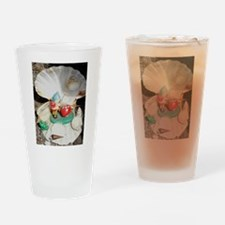 Gnome and shell Drinking Glass