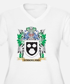 Strickland Coat of Arms - Family Plus Size T-Shirt