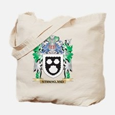 Strickland Coat of Arms - Family Crest Tote Bag