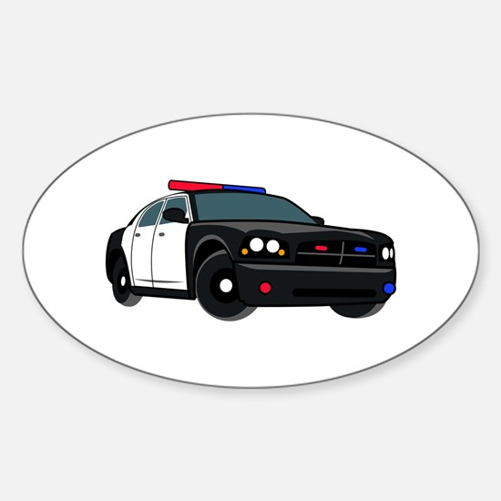 Police Car Decal
