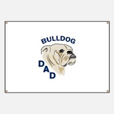 Bulldog Dad Banner