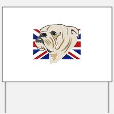 English Bulldog Yard Sign
