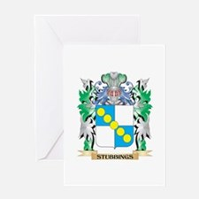 Stubbings Coat of Arms - Family Cre Greeting Cards