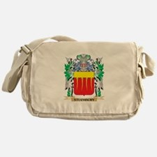 Stuchbury Coat of Arms - Family Cres Messenger Bag