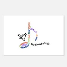 The Sound Of Llife Postcards (Package of 8)