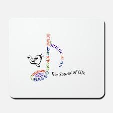 The Sound Of Llife Mousepad