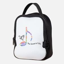 The Sound Of Llife Neoprene Lunch Bag