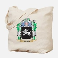 Sturm Coat of Arms - Family Crest Tote Bag