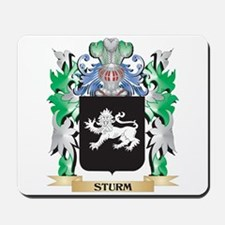 Sturm Coat of Arms - Family Crest Mousepad