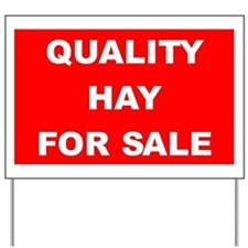 Hay For Sale Yard Sign