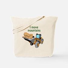 I Move Mountains Tote Bag