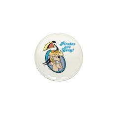 Pirates are Sexy! Mini Button (10 pack)