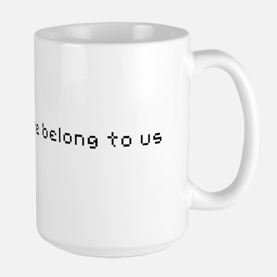 All your base are belong to u Large Mug