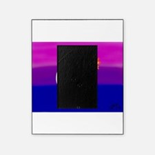Bisexual flag love art Picture Frame