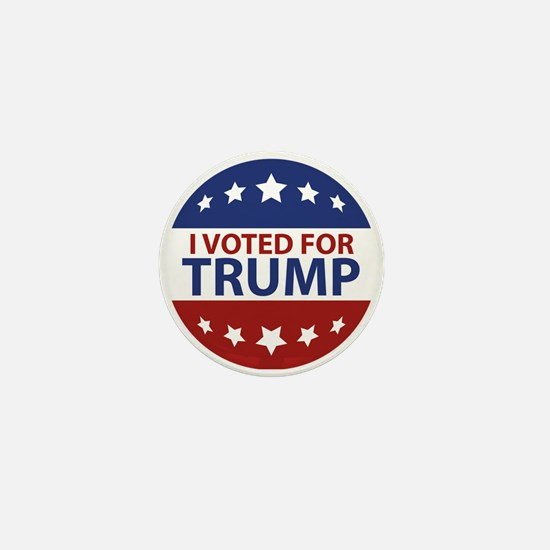 I Voted For Trump Mini Button