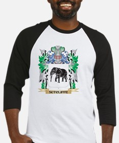 Sutcliffe Coat of Arms - Family Cr Baseball Jersey