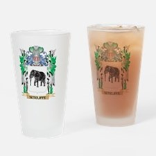 Sutcliffe Coat of Arms - Family Cre Drinking Glass